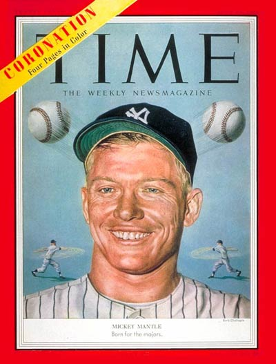 TIME Magazine Cover: Mickey Mantle -- June 15, 1953