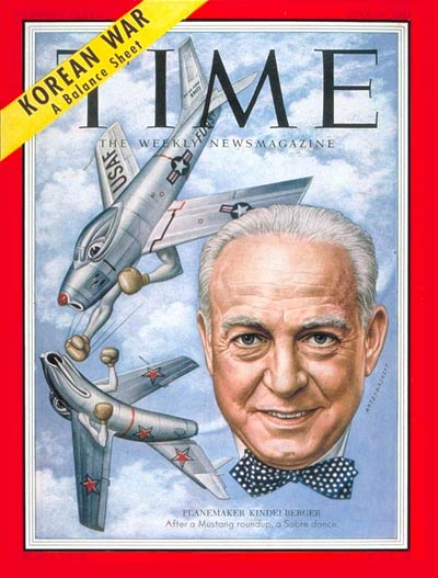 TIME Magazine Cover: James H. Kindelberger -- June 29, 1953