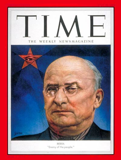 Chief of NKVD, Russia's secret police