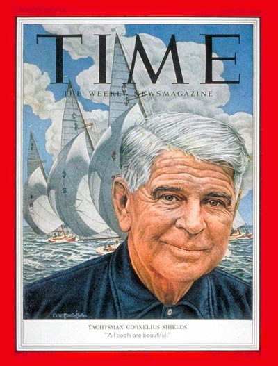 TIME Magazine Cover: Cornelius Shields -- July 27, 1953