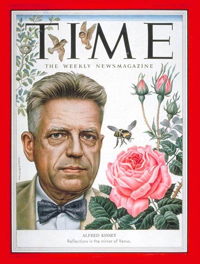 TIME Magazine Cover: Dr. Alfred C. Kinsey -- Aug. 24, 1953