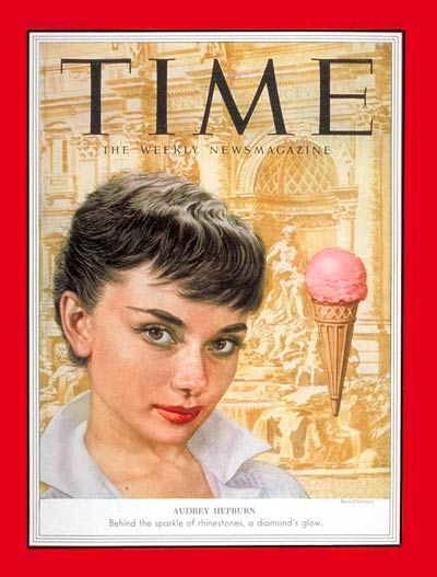 TIME Magazine Cover: Audrey Hepburn -- Sep. 7, 1953