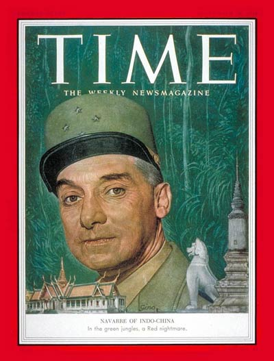 TIME Magazine Cover: General Henri Navarre -- Sep. 28, 1953