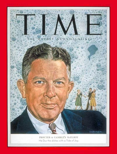 TIME Magazine Cover: Neil H. McElroy -- Oct. 5, 1953