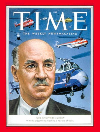 TIME Magazine Cover: Igor Sikorsky -- Nov. 16, 1953