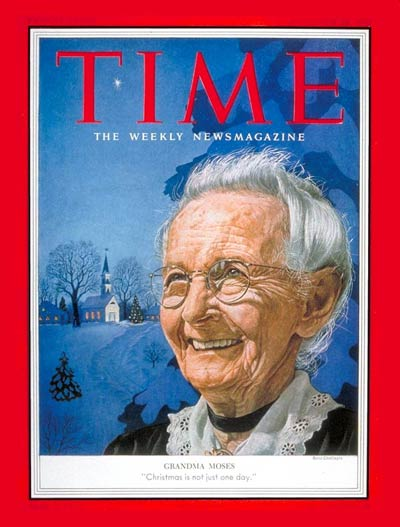 TIME Magazine Cover: Grandma Moses -- Dec. 28, 1953