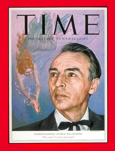 TIME Magazine Cover: George Balanchine -- Jan. 25, 1954