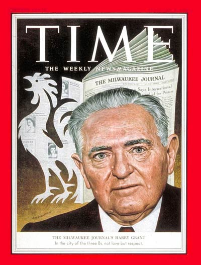 TIME Magazine Cover: Harry J. Grant -- Feb. 1, 1954