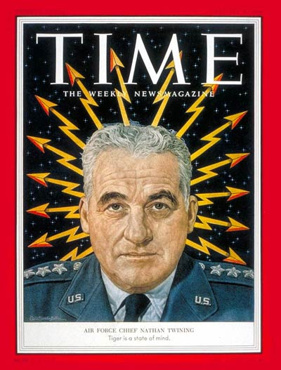 TIME Magazine Cover: General Nathan Twining -- Feb. 8, 1954