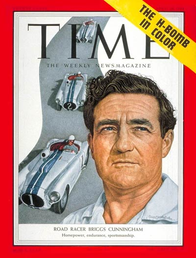 TIME Magazine Cover: Briggs S. Cunningham -- Apr. 26, 1954