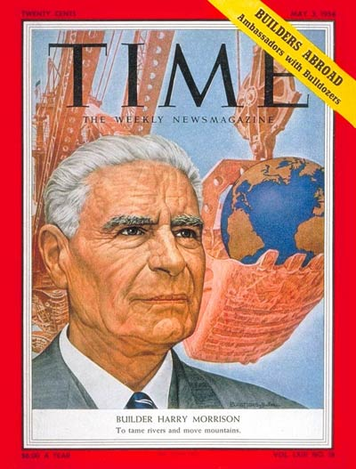 TIME Magazine Cover: Harry W. Morrison -- May 3, 1954