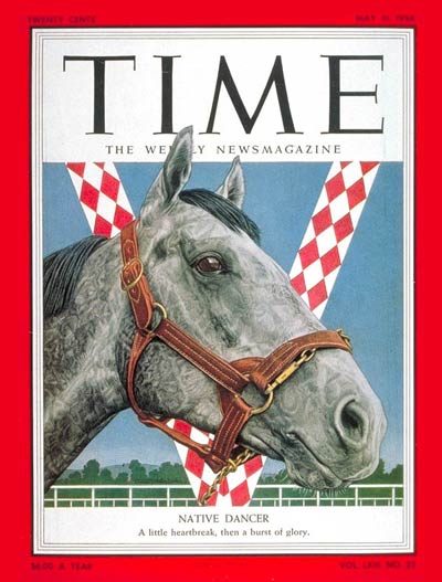 TIME Magazine Cover: Native Dancer -- May 31, 1954