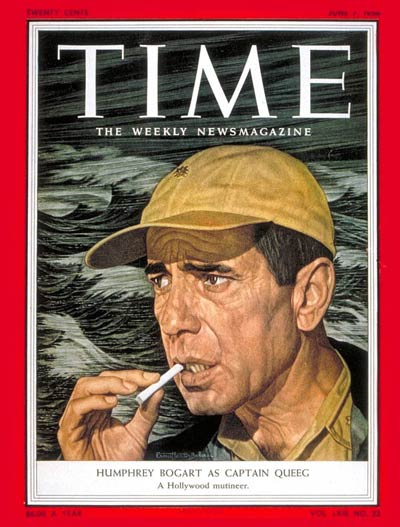 TIME Magazine Cover: Humphrey Bogart -- June 7, 1954