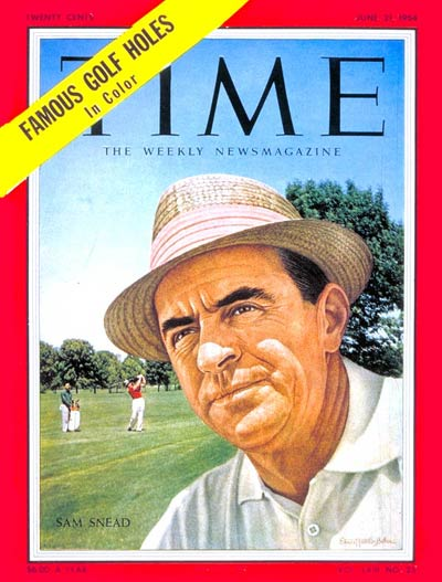 TIME Magazine Cover: Sam Snead -- June 21, 1954