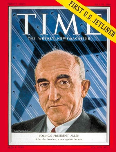 TIME Magazine Cover: William McP. Allen -- July 19, 1954