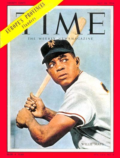 TIME Magazine Cover: Willie Mays -- July 26, 1954