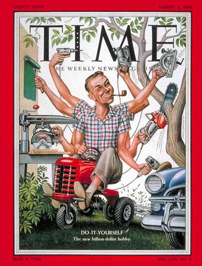 TIME Magazine Cover: Do-it-Yourself -- Aug. 2, 1954
