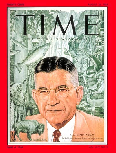 TIME Magazine Cover: Douglas McKay -- Aug. 23, 1954