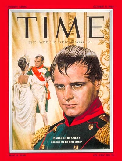 TIME Magazine Cover: Marlon Brando -- Oct. 11, 1954