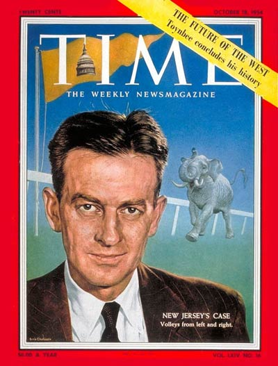 TIME Magazine Cover: Clifford Case, Jr. -- Oct. 18, 1954