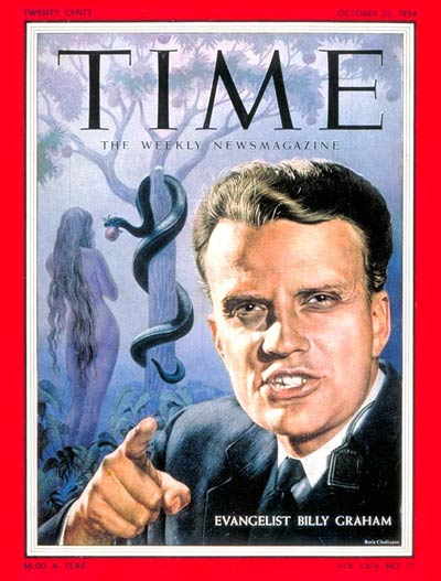 TIME Magazine Cover: Billy Graham -- Oct. 25, 1954
