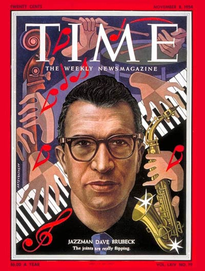 TIME Magazine Cover: David Brubeck -- Nov. 8, 1954