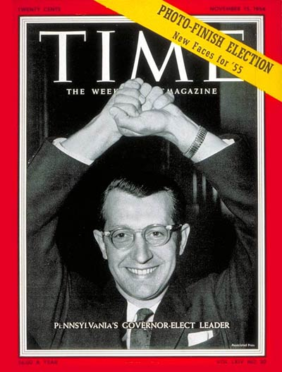 TIME Magazine Cover: George M. Leader -- Nov. 15, 1954
