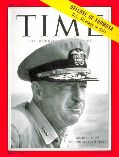 TIME Magazine Cover: Alfred M. Pride -- Feb. 7, 1955
