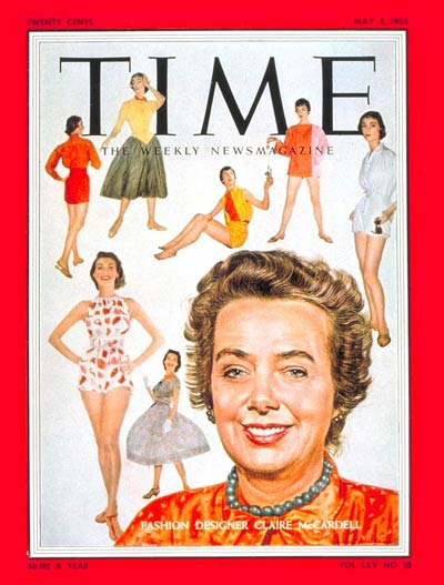 TIME Magazine Cover: Claire McCardell -- May 2, 1955