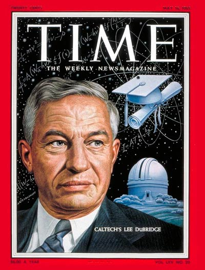 TIME Magazine Cover: Lee A. Dubridge -- May 16, 1955