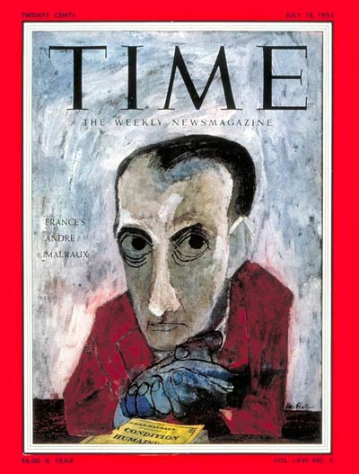 TIME Magazine Cover: Andrei Malraux -- July 18, 1955