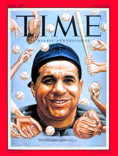 TIME Magazine Cover: Roy Campanella -- Aug. 8, 1955