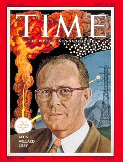 TIME Magazine Cover: Willard Libby -- Aug. 15, 1955