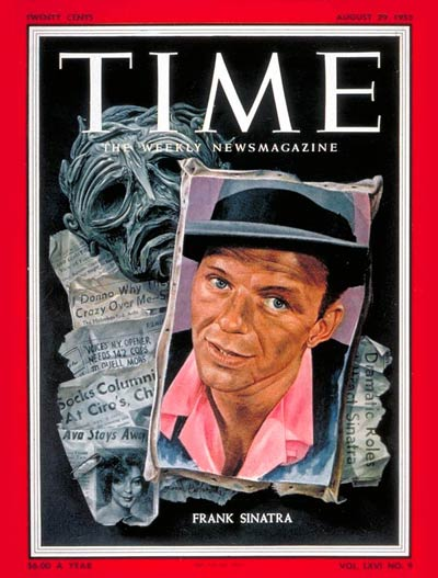 TIME Magazine Cover: Frank Sinatra -- Aug. 29, 1955