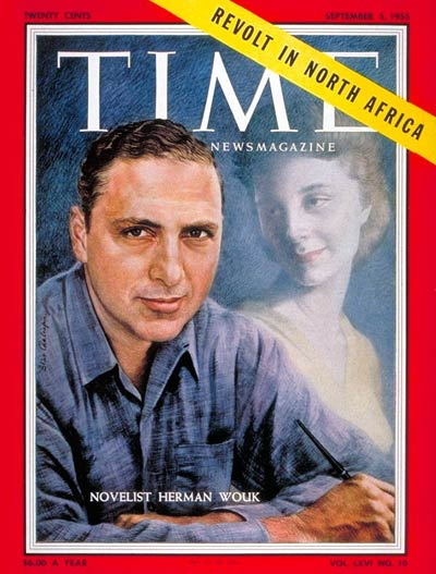 TIME Magazine Cover: Herman Wouk -- Sep. 5, 1955
