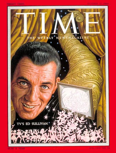 TIME Magazine Cover: Ed Sullivan -- Oct. 17, 1955