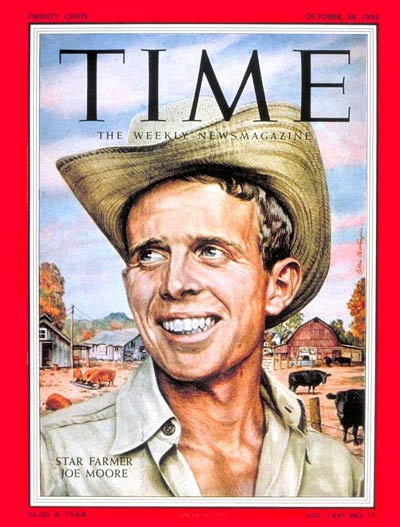 TIME Magazine Cover: Joe Moore -- Oct. 24, 1955