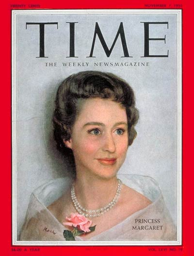 TIME Magazine Cover: Princess Margaret -- Nov. 7, 1955