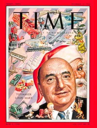 TIME Magazine Cover: Louis Marx -- Dec. 12, 1955