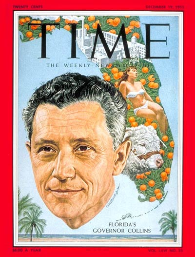 TIME Magazine Cover: LeRoy Collins -- Dec. 19, 1955