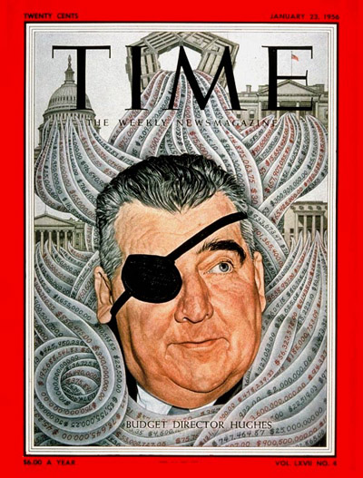 TIME Magazine Cover: Rowland Hughes -- Jan. 23, 1956