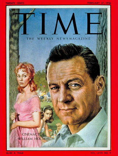 TIME Magazine Cover: William Holden -- Feb. 27, 1956