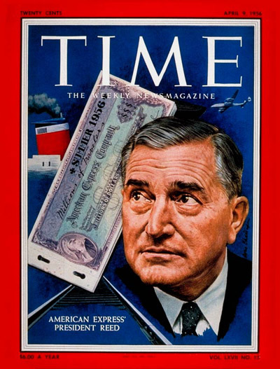 TIME Magazine Cover: Ralph Reed -- Apr. 9, 1956