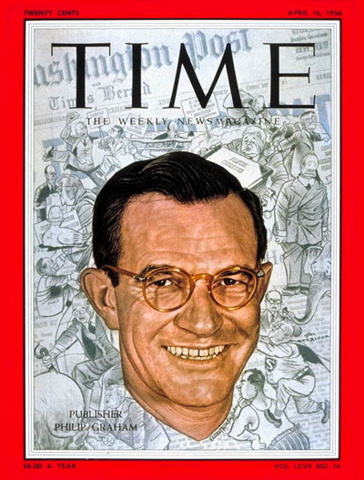 TIME Magazine Cover: Philip Graham -- Apr. 16, 1956
