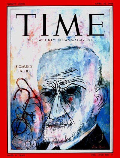 TIME Magazine Cover: Sigmund Freud -- Apr. 23, 1956