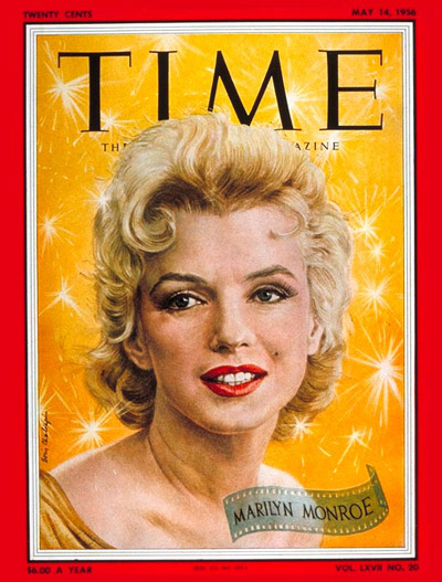 TIME Magazine Cover: Marilyn Monroe -- May 14, 1956