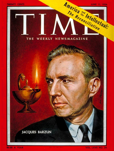 TIME Magazine Cover: Jacques Barzun -- June 11, 1956