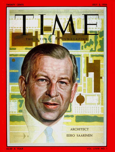 TIME Magazine Cover: Eero Saarinen -- July 2, 1956