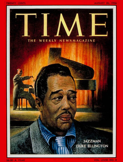TIME Magazine Cover: Duke Ellington -- Aug. 20, 1956