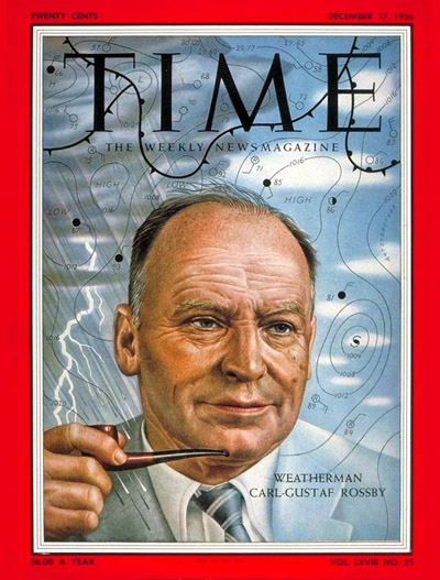 TIME Magazine Cover: Carl-Gustaf Rossby -- Dec. 17, 1956